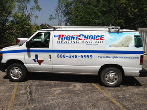 THE RIGHT CHOICE AIR CONDITIONING